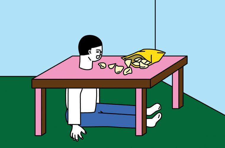 The innocent humor of Minju An's illustrations