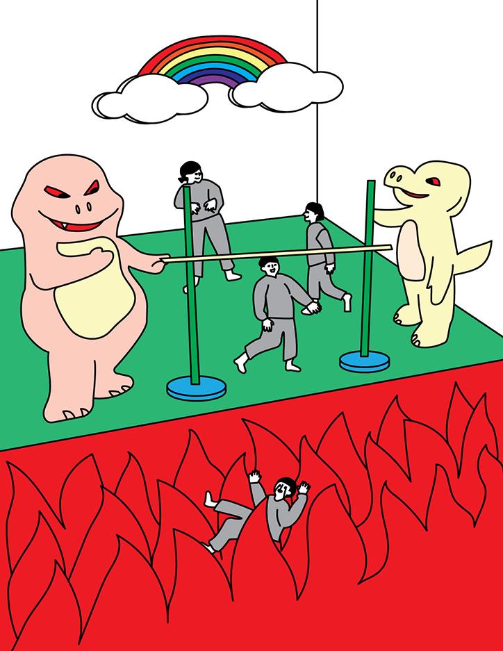 L'innocente umorismo delle illustrazioni di Minju An | Collater.al 10