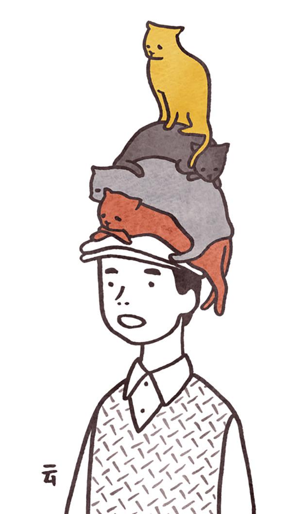 Le adorabili gif di Nimura Daisuke | Collater.al