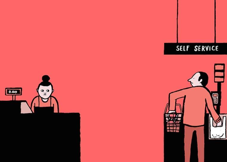 Le illustrazioni satiriche di Jean Jullien | Collater.al