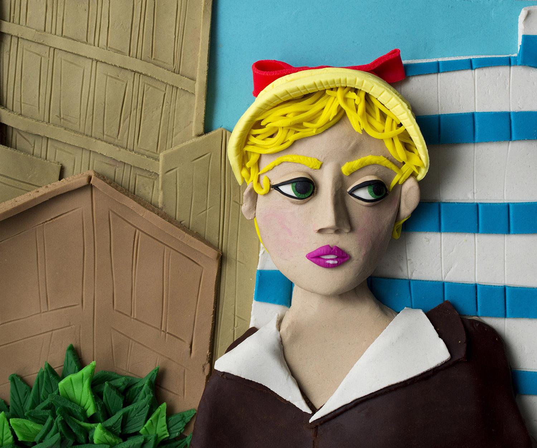 Le riproduzioni in Play-Doh di Eleanor Macnair dei grandi capolavori della Magnum | Collater.al