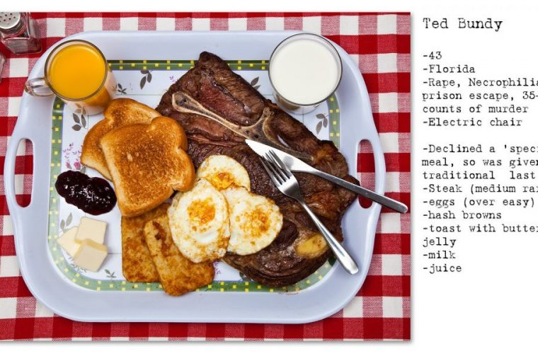 No seconds, the last meals of death row inmates