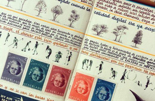 The Orange Manuscript, i taccuini di viaggio di José Naranja