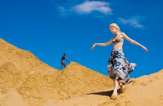 The Sun of the White Desert, the desert' colors in the new Elizaveta Porodina series