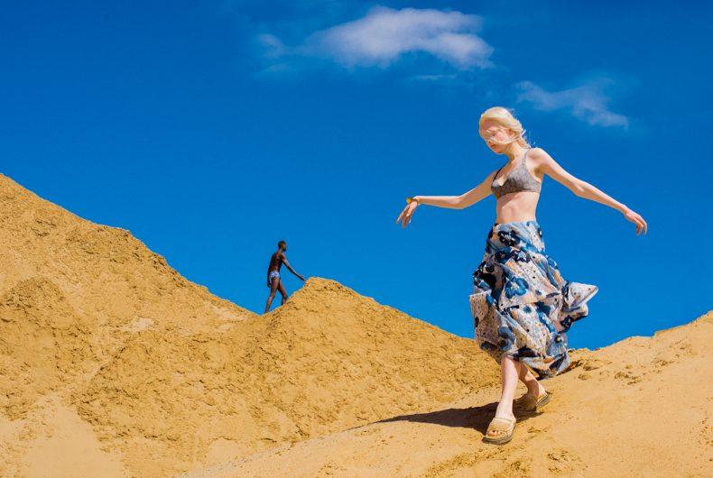 The Sun Of The White Desert, i colori del deserto nella nuova serie di Elizaveta Porodina