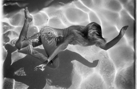 The Swimming Pool, naked bodies immersed in water by Deanna Templeton