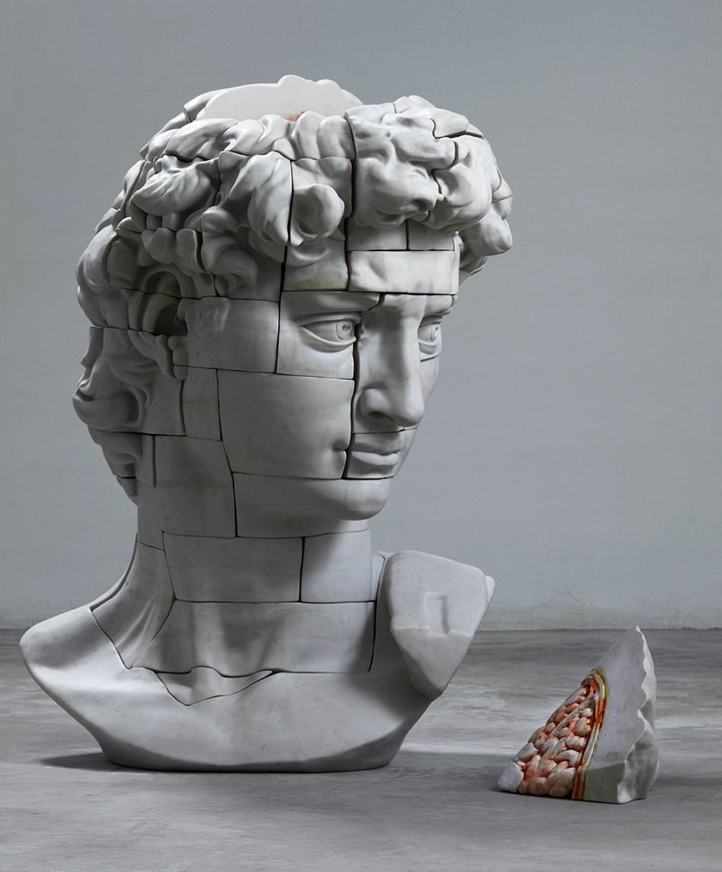 Uno sguardo all'interno dell'arte con le sculture classiche sezionate di Cao Hui   Collater.al