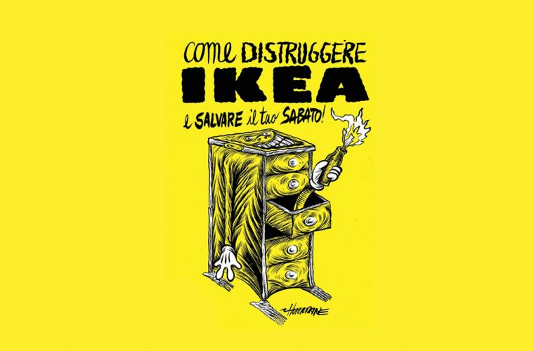 How to destroy Ikea and save your Saturday, the illustrated book by Hurricane Ivan