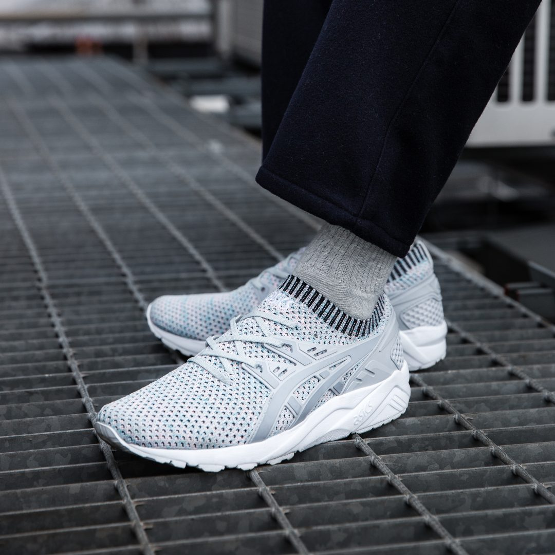 asics tiger kayano knit