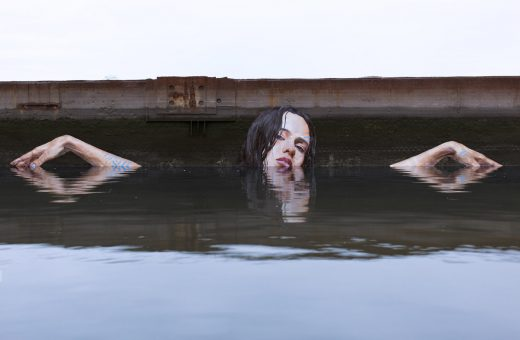 Amazing seaside Murals by street artist Sean Yoro aka HULA
