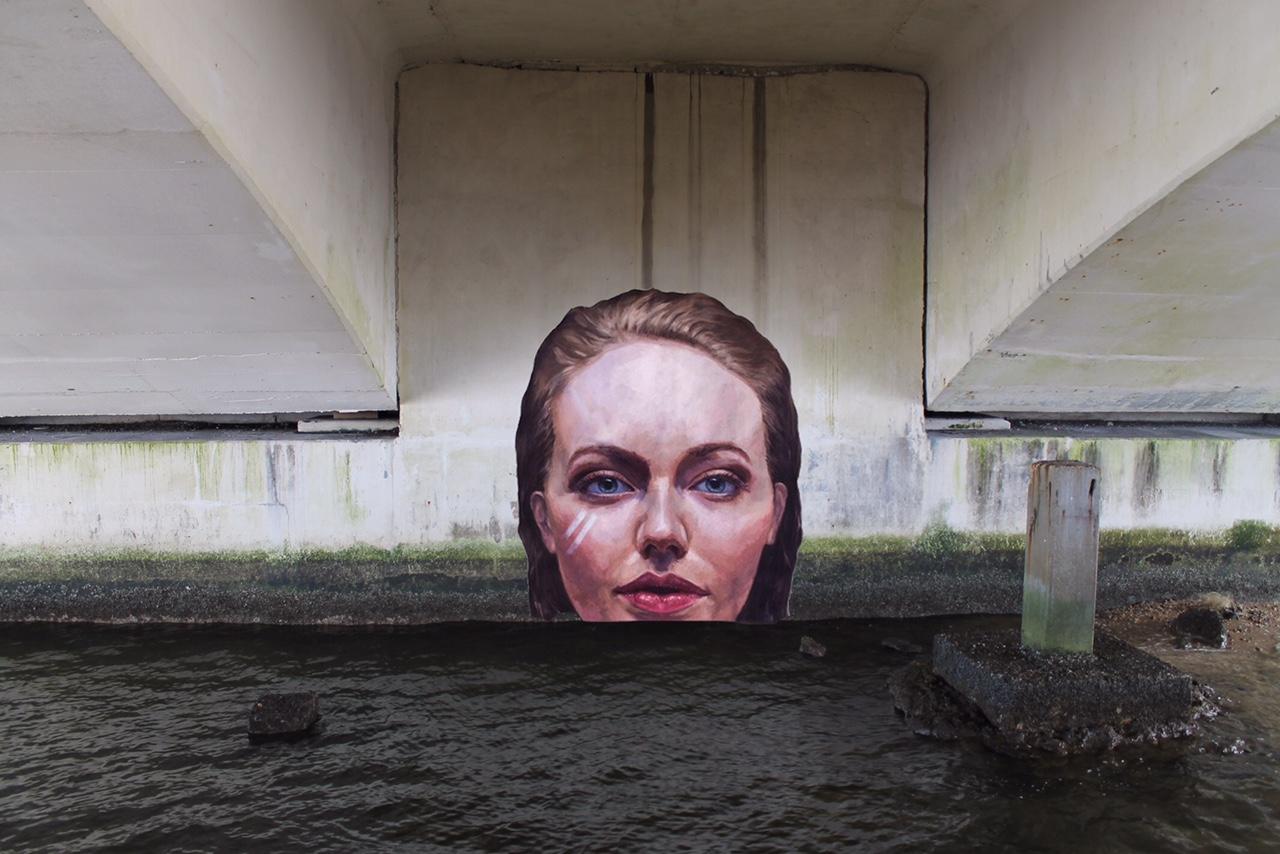 La street art fra mare e terra di Sean Yoro aka HULA | Collater.al
