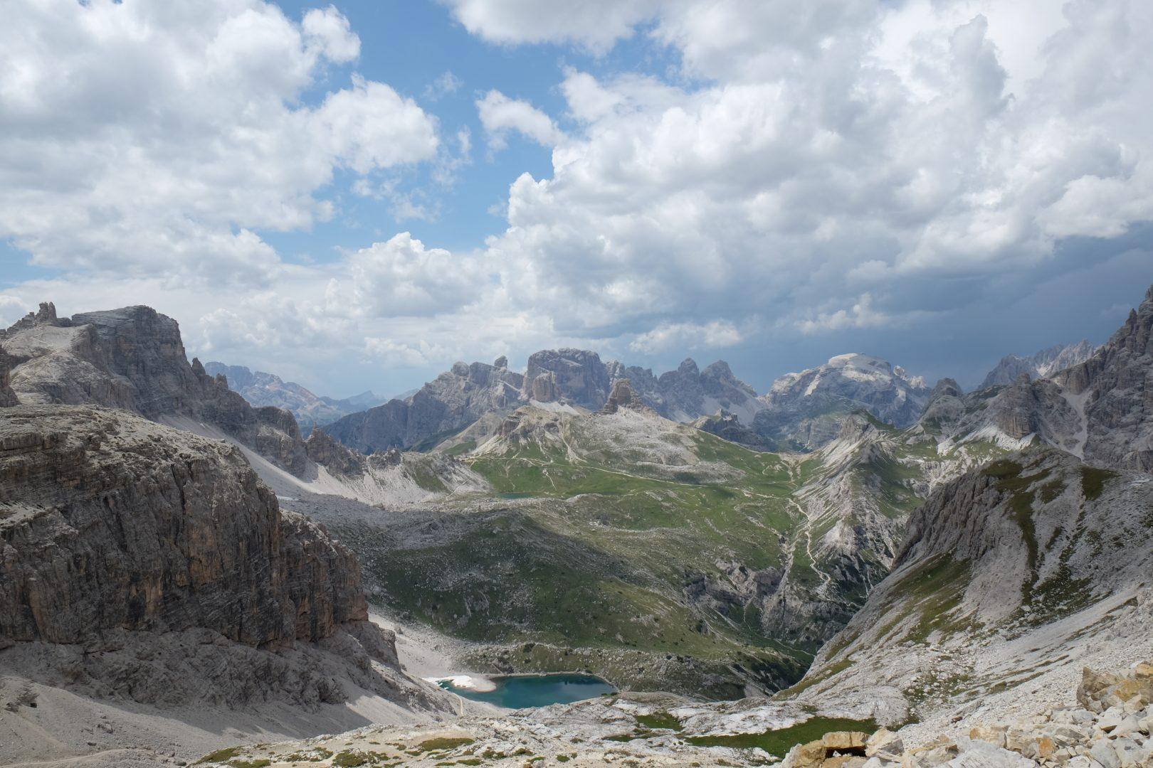 A piedi tra Dolomiti e Alta Val Badia