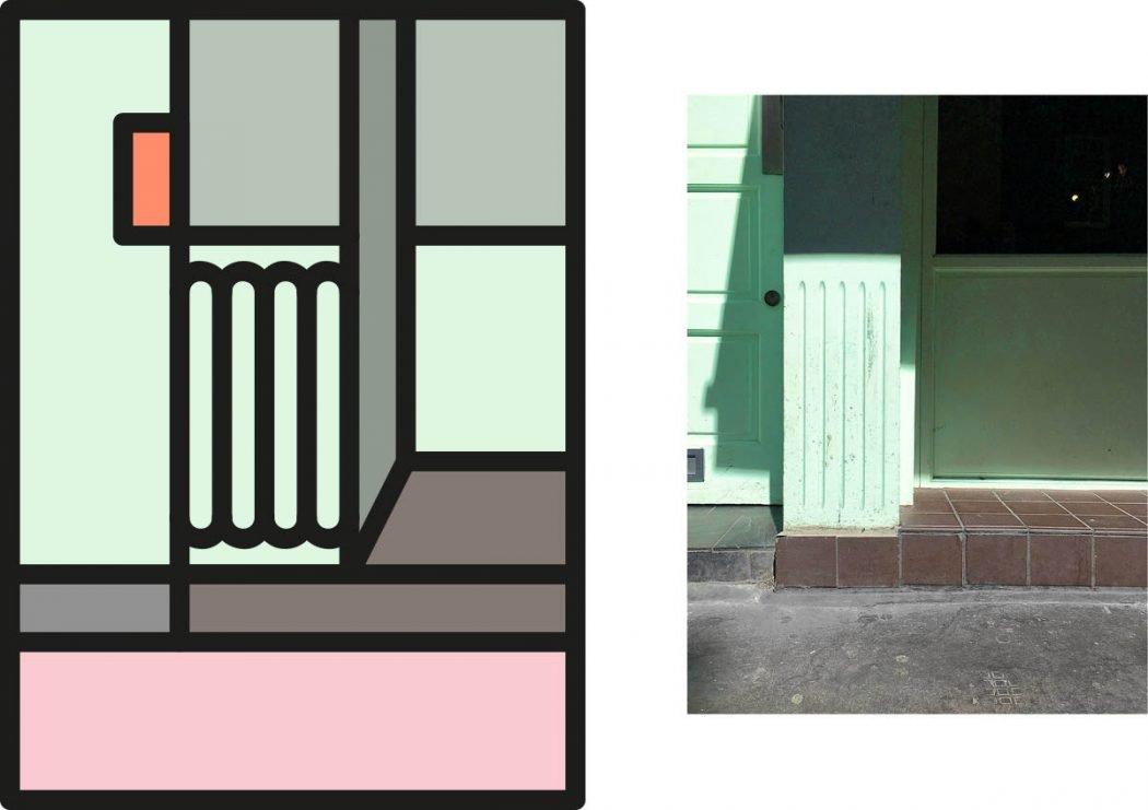 Peter Judson riduce le città a colorati elementi grafici | Collater.al 1