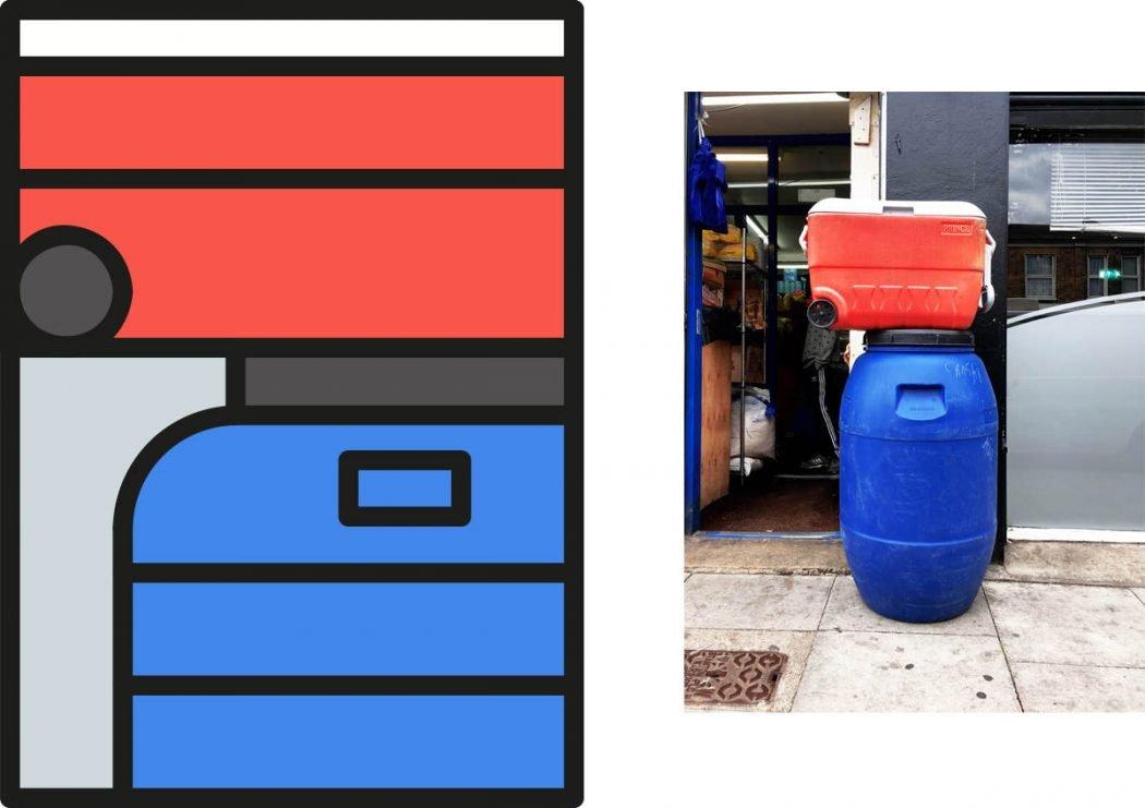 Peter Judson riduce le città a colorati elementi grafici | Collater.al 12