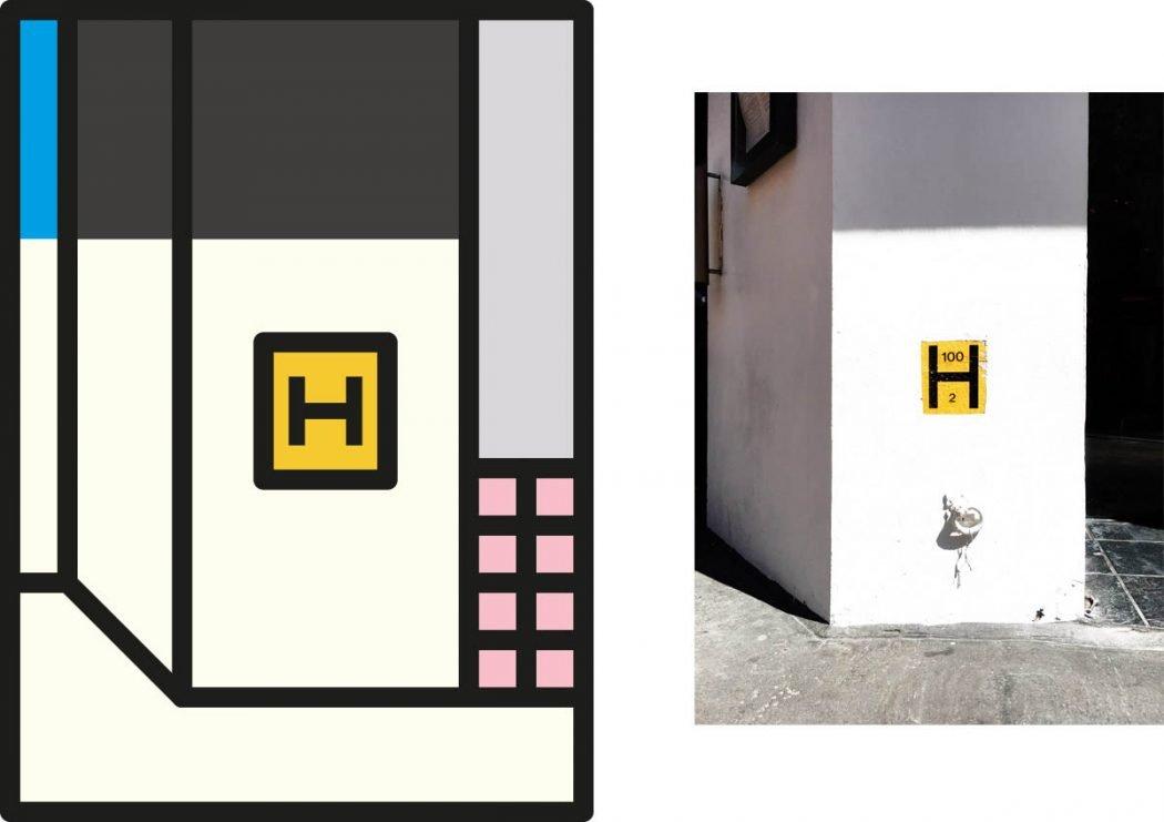 Peter Judson riduce le città a colorati elementi grafici | Collater.al 14