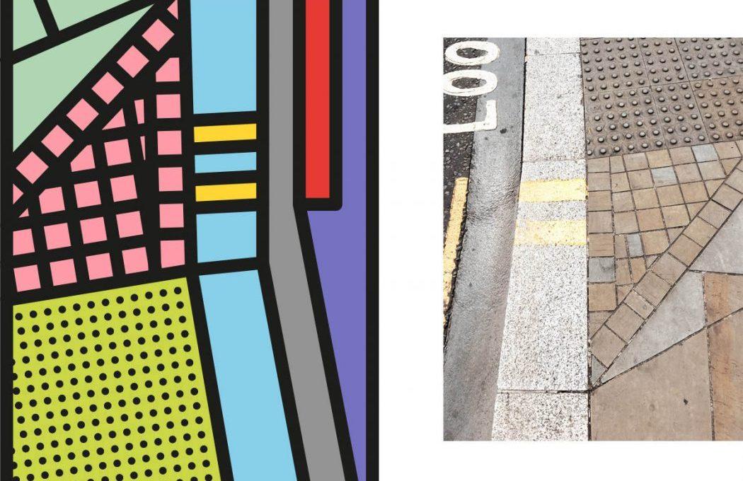 Peter Judson riduce le città a colorati elementi grafici