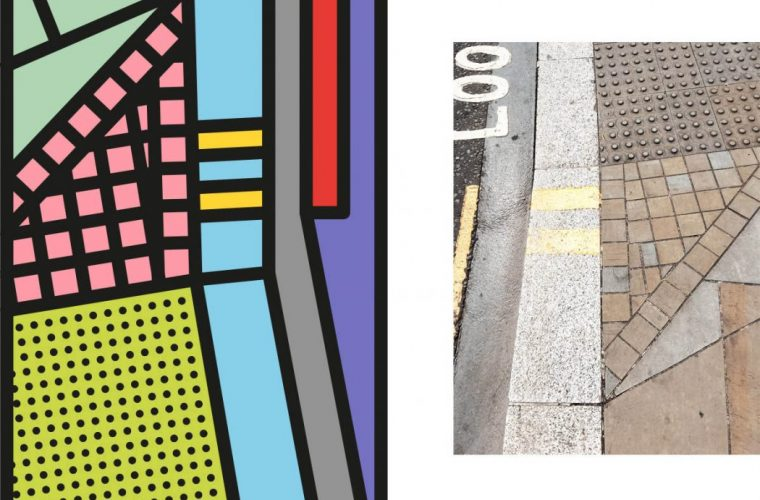 Peter Judson reduces cities to colorful graphic elements