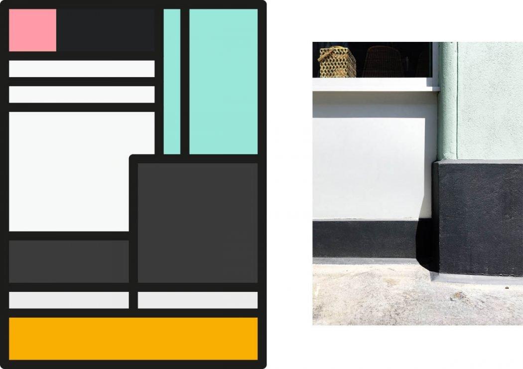 Peter Judson riduce le città a colorati elementi grafici | Collater.al 2