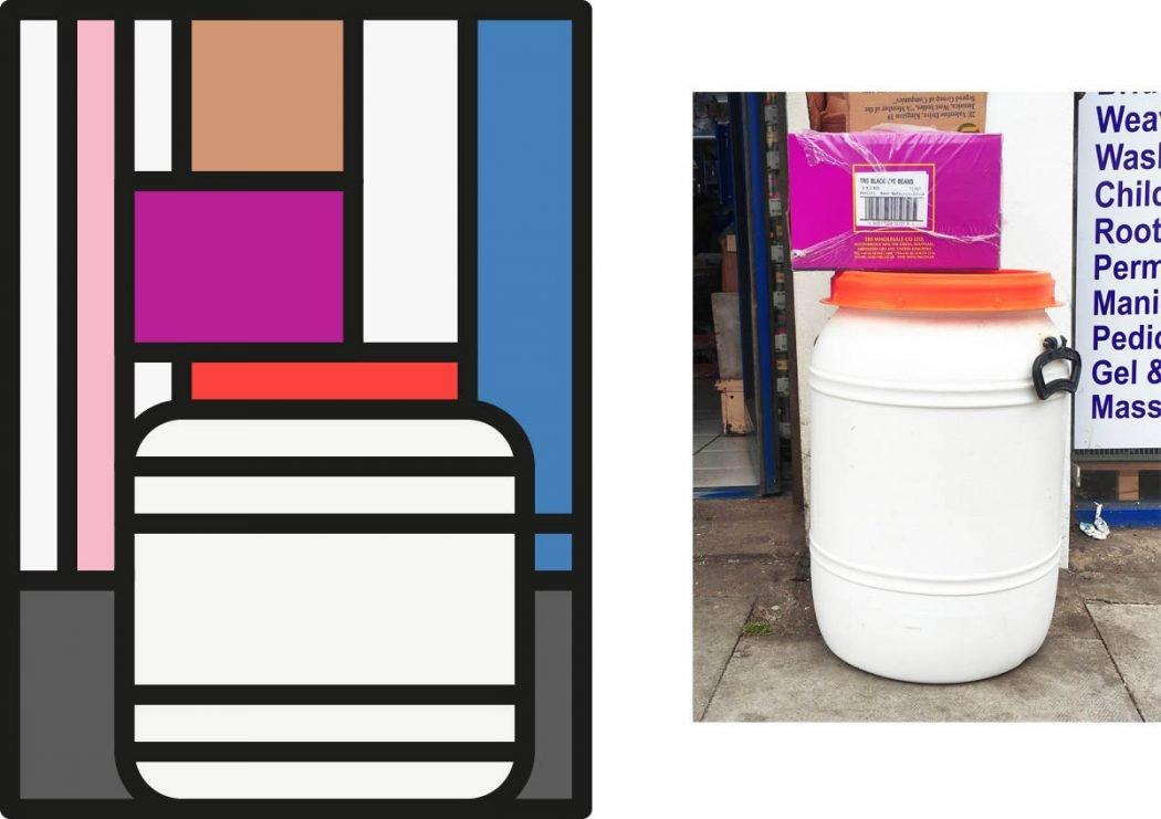 Peter Judson riduce le città a colorati elementi grafici | Collater.al 3