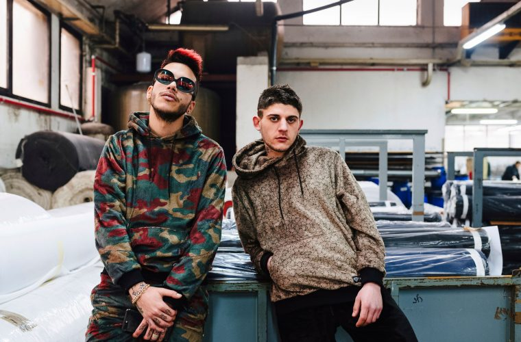 Rkomi and Sfera Ebbasta for IUTER FW17