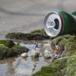 The little people project, la micro street art di Slinkachu | Collater.al 1