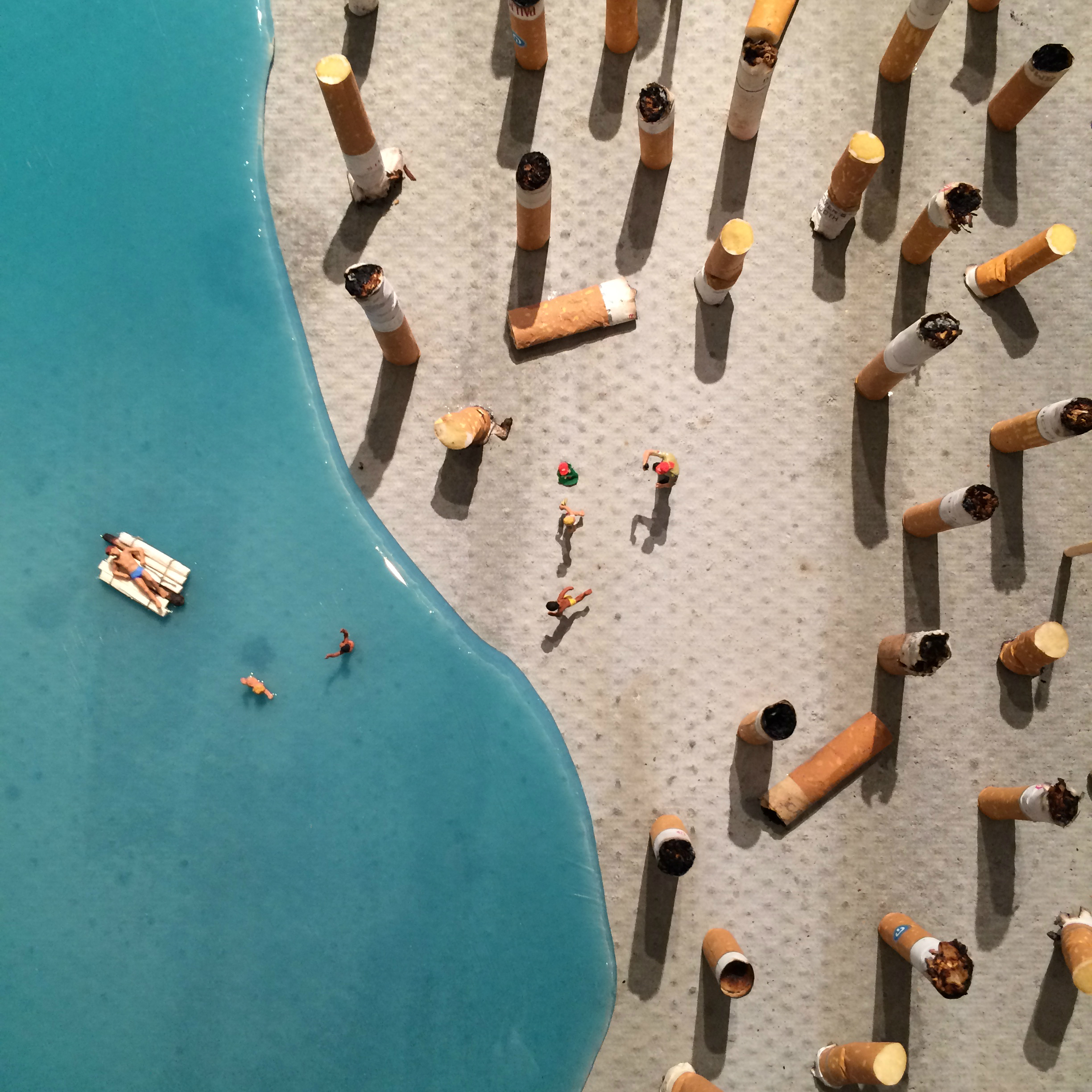 The little people project, la micro street art di Slinkachu | Collater.al 10