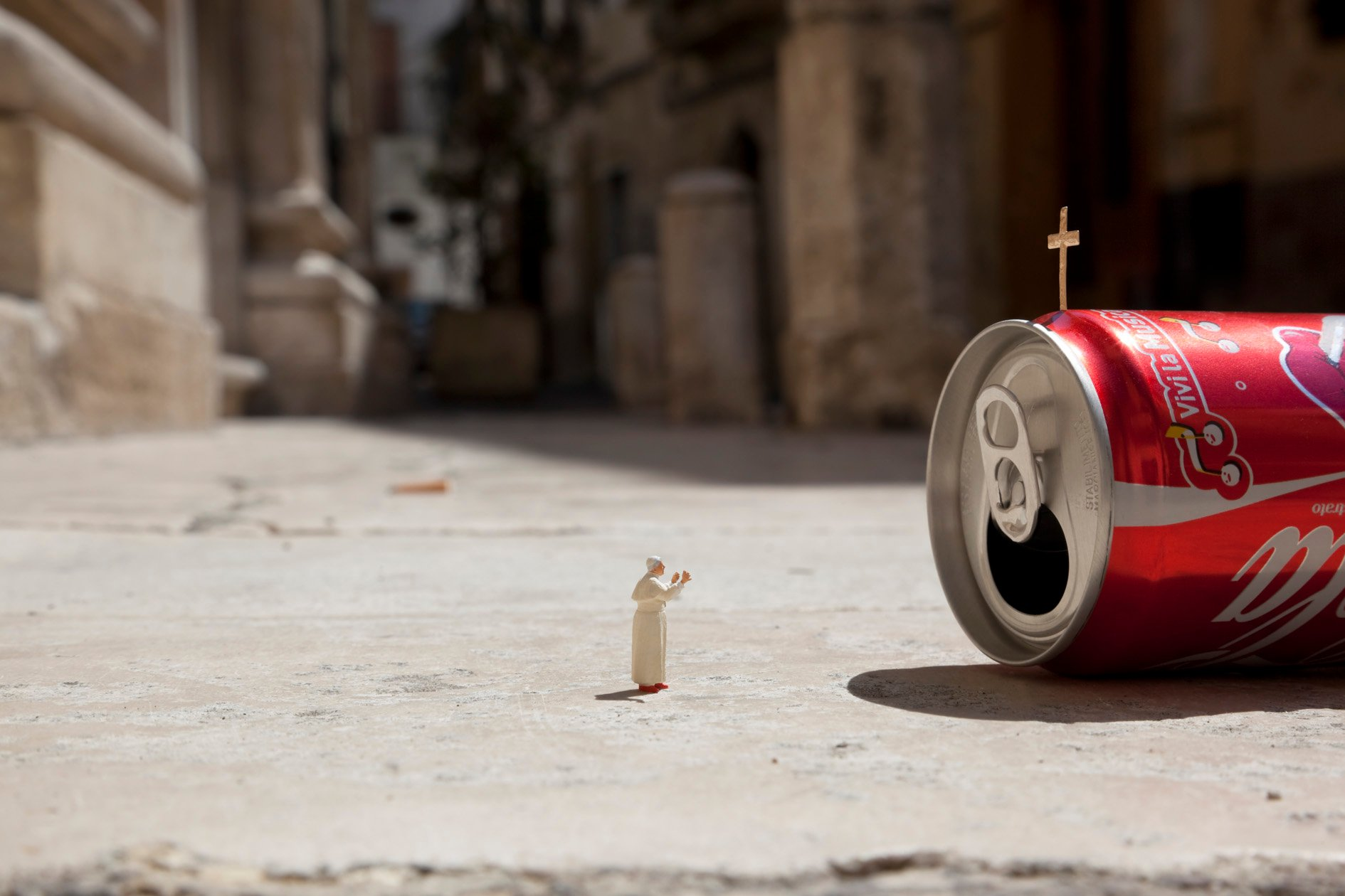 The little people project, la micro street art di Slinkachu | Collater.al 12