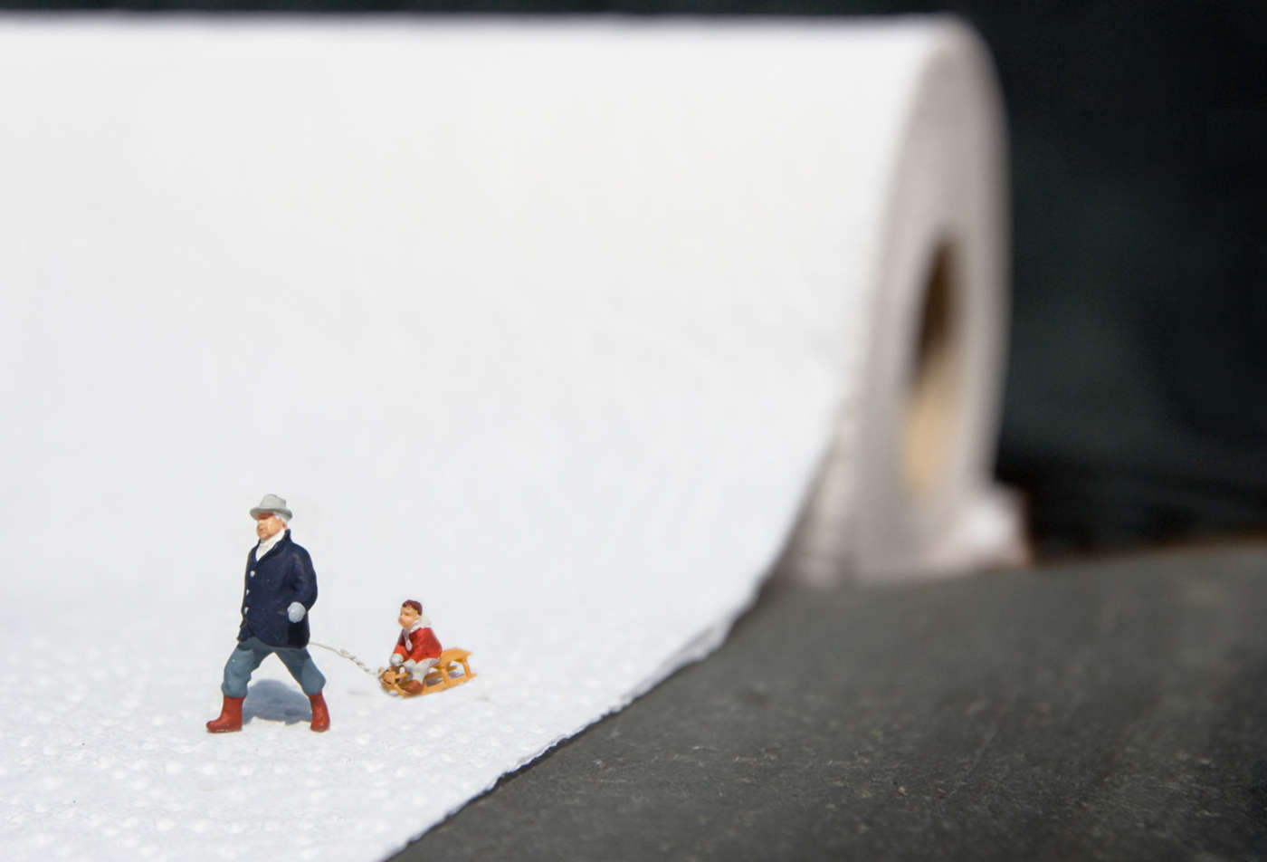 The little people project, la micro street art di Slinkachu | Collater.al 13