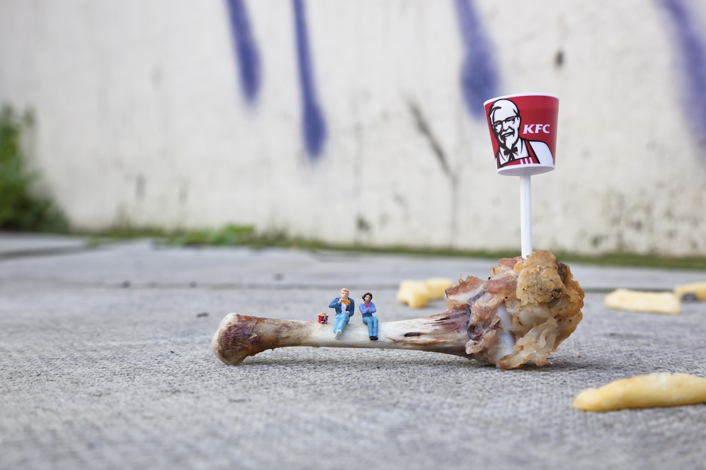 The little people project, la micro street art di Slinkachu | Collater.al 16