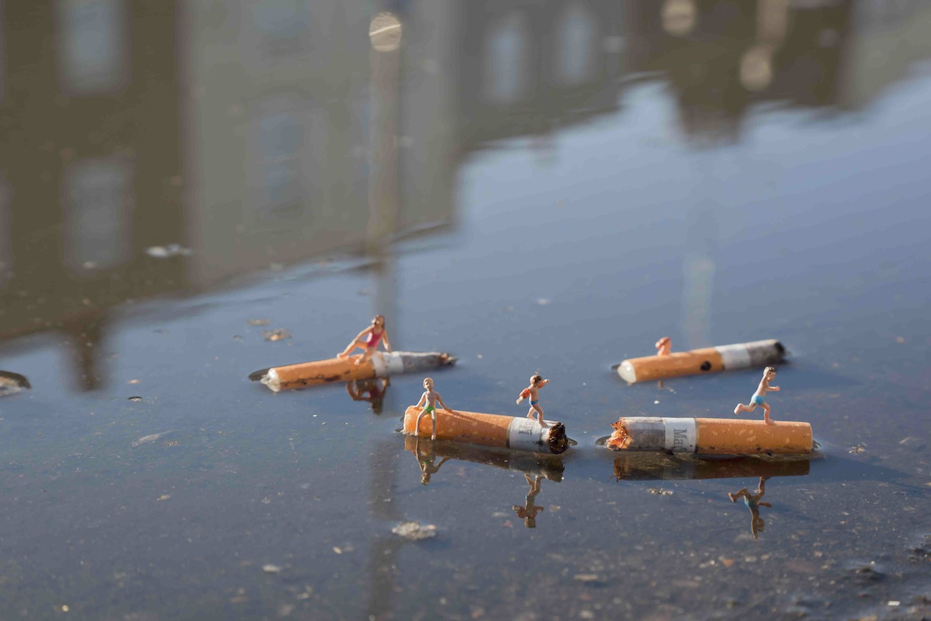 The little people project, la micro street art di Slinkachu | Collater.al 18