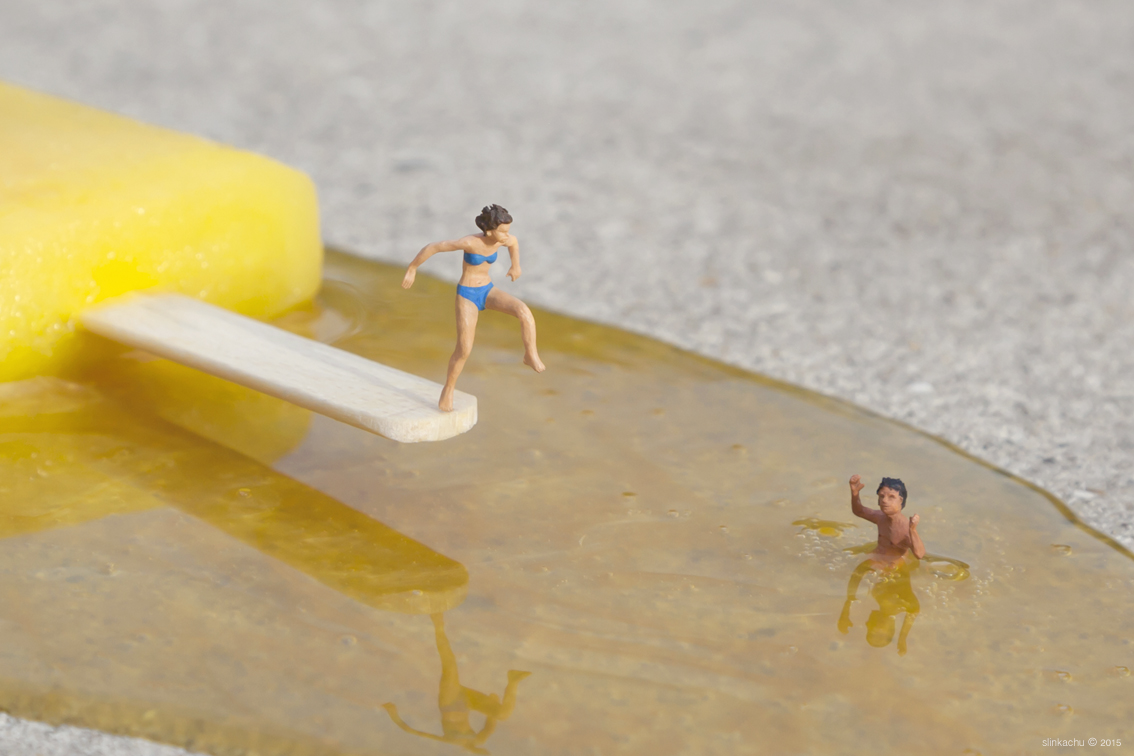 The little people project, la micro street art di Slinkachu | Collater.al 5