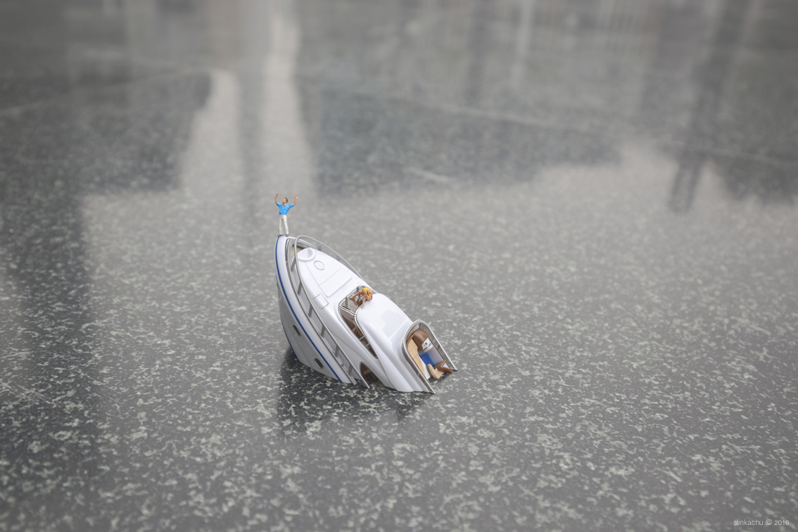 The little people project, la micro street art di Slinkachu | Collater.al 8