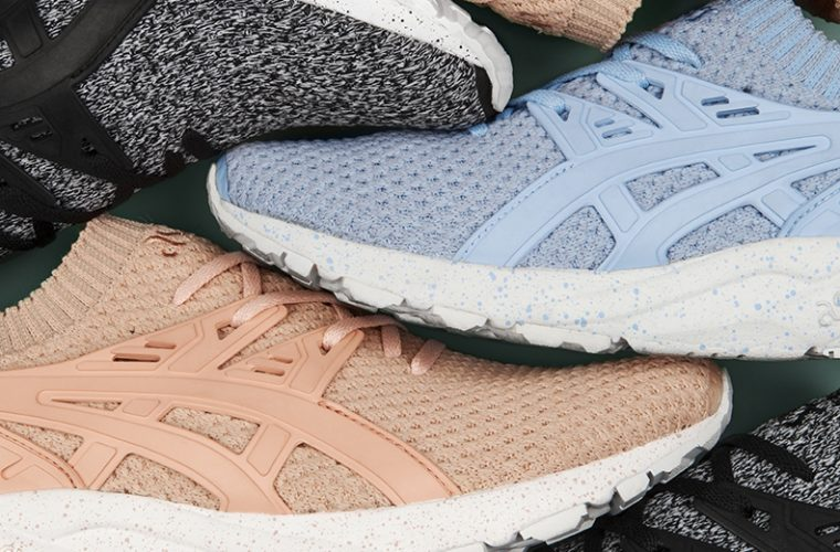 ASICSTIGER lancia le GEL Kayano Trainer Knit Twisted Yarn