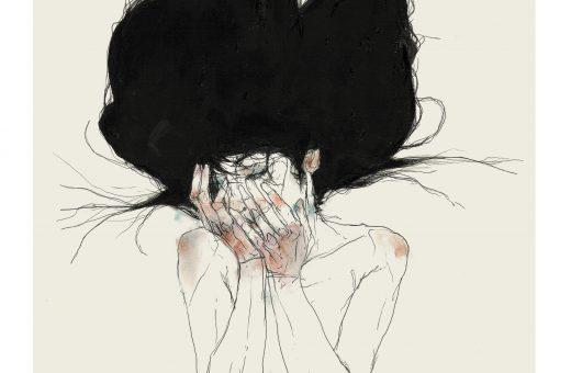 La bellezza struggente di una donna ferita nelle illustrazioni di Bael