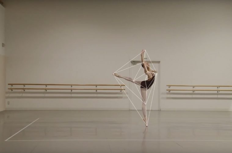 Ballet Rotoscope, the short film that mix together dance and animation