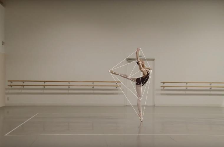 Ballet Rotoscope, il cortometraggio che lega danza e animazione