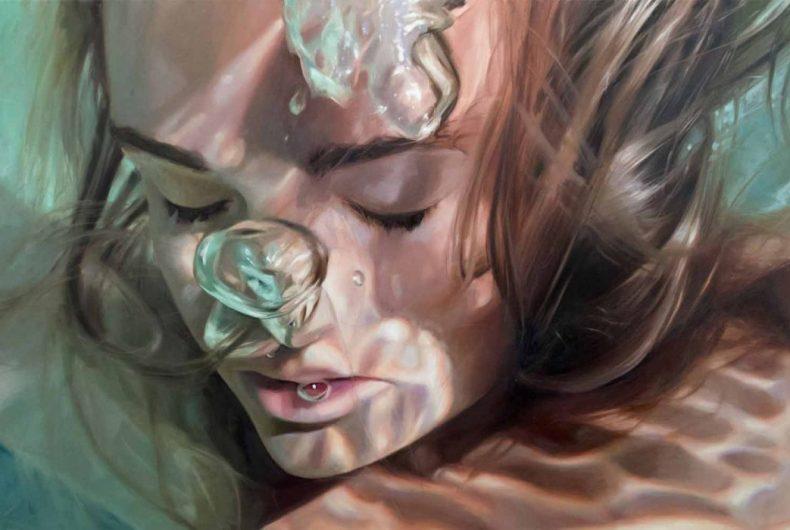 I ritratti subacquei di Reisha Perlmutter