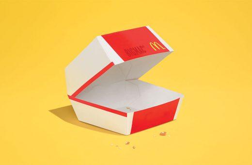 Il cibo che scompare nella nuova campagna di McDonald's
