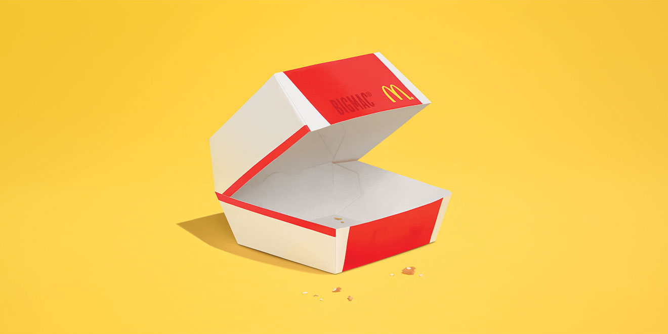 The food that disappears in the new McDonald's campaign