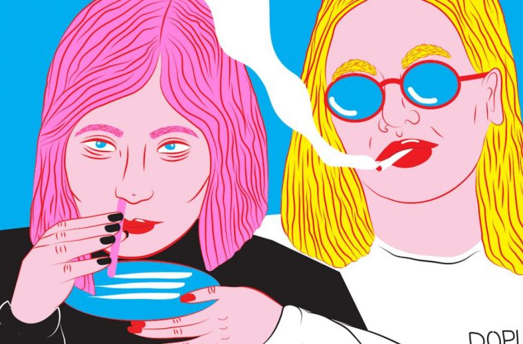 Kine Andersen illustra l'adolescenza attraverso la sua Candy-Pop Art
