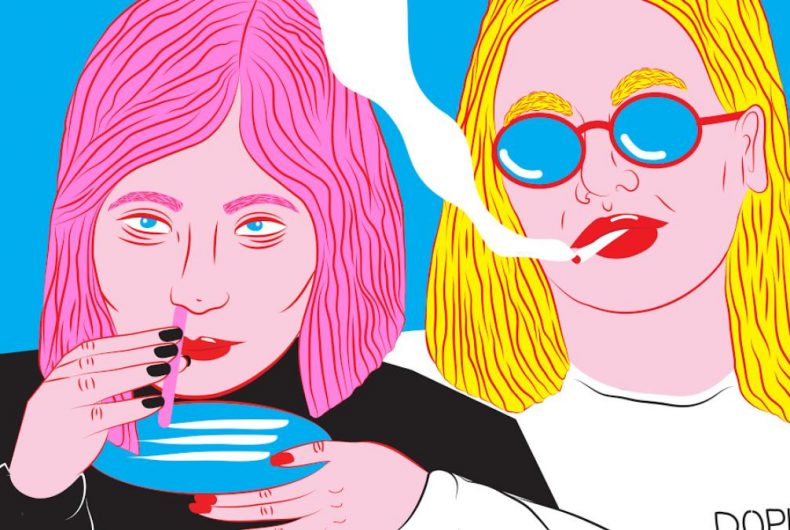 Kine Andersen illustrates adolescence through her Candy-Pop Art