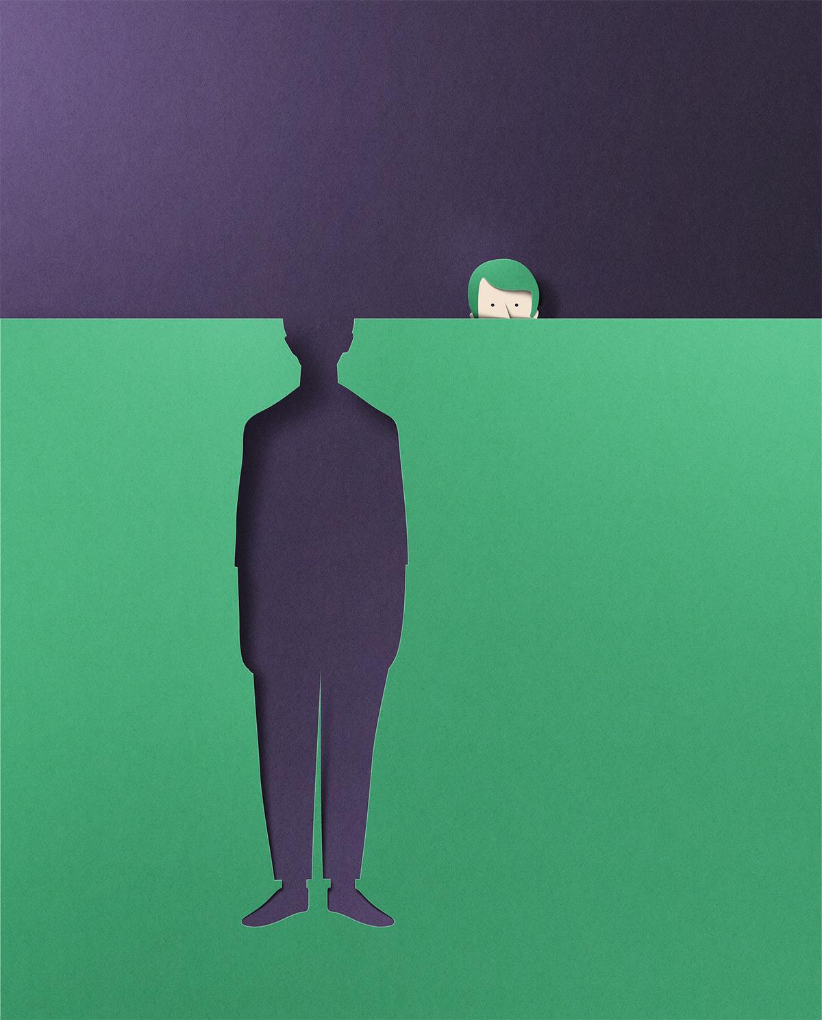 La paper art minimale di Eiko Ojala | Collater.al 10
