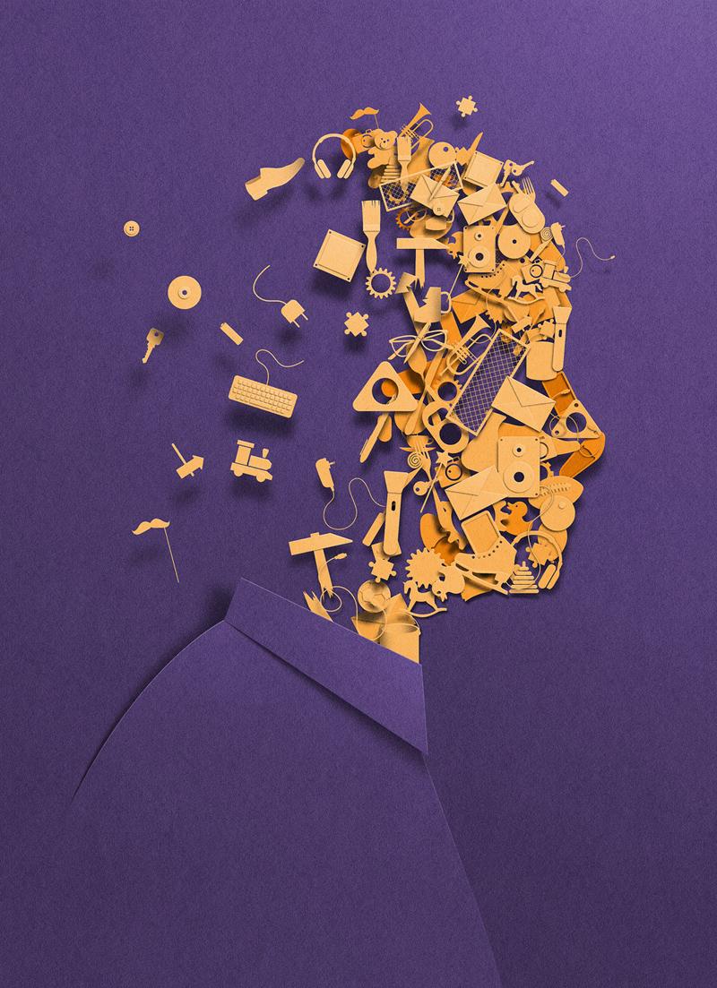 La paper art minimale di Eiko Ojala | Collater.al 17