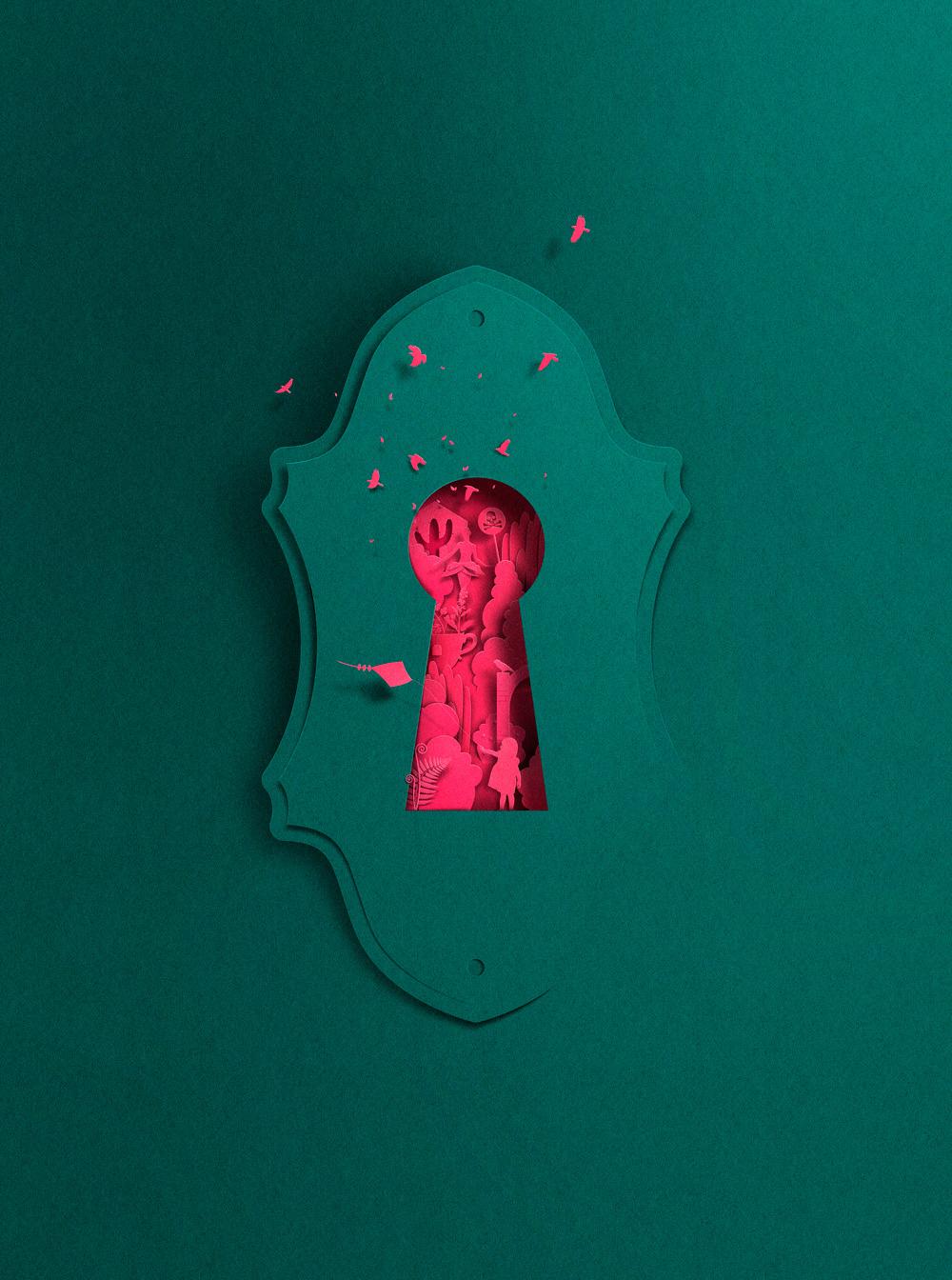 La paper art minimale di Eiko Ojala | Collater.al 20