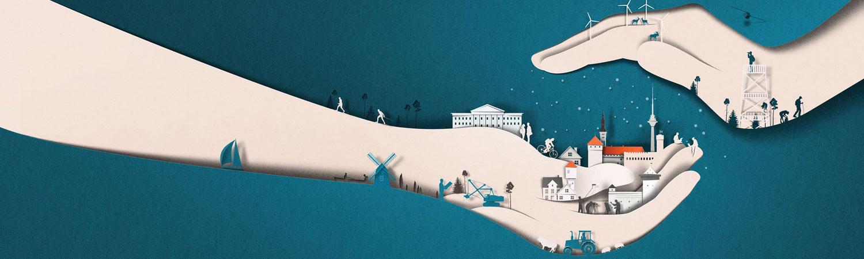 La paper art minimale di Eiko Ojala | Collater.al 22