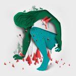 La paper art minimale di Eiko Ojala | Collater.al 8