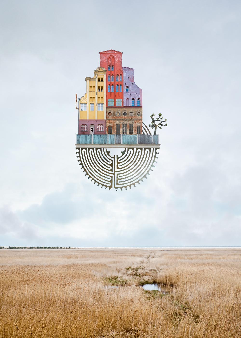 Le architetture galleggianti di Matthias Jung | Collater.al 2