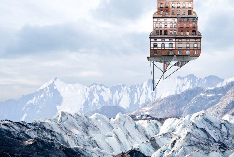 Le architetture galleggianti di Matthias Jung