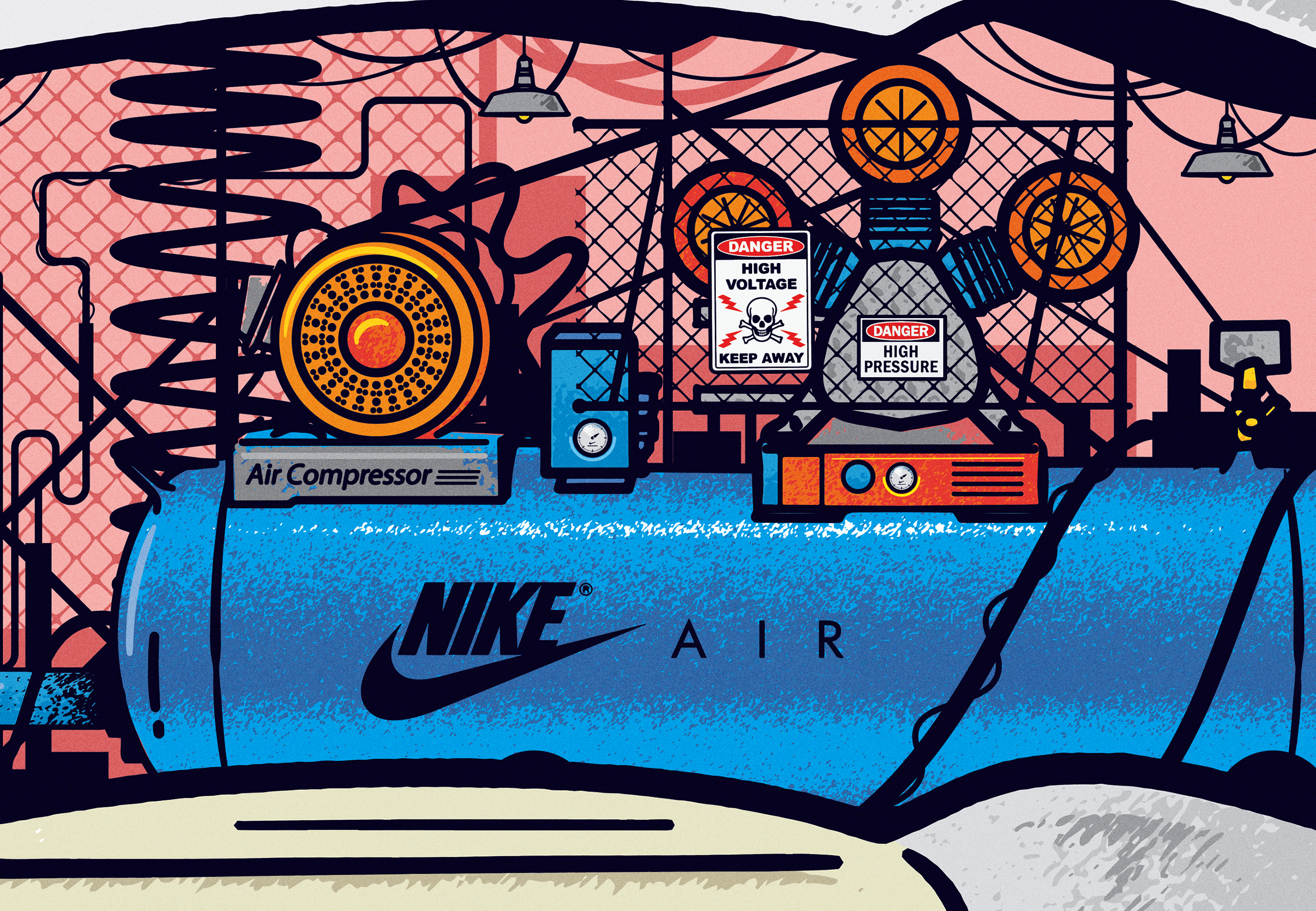 Le sneakers in costruzione illustrate da Musketon | Collater.al 9