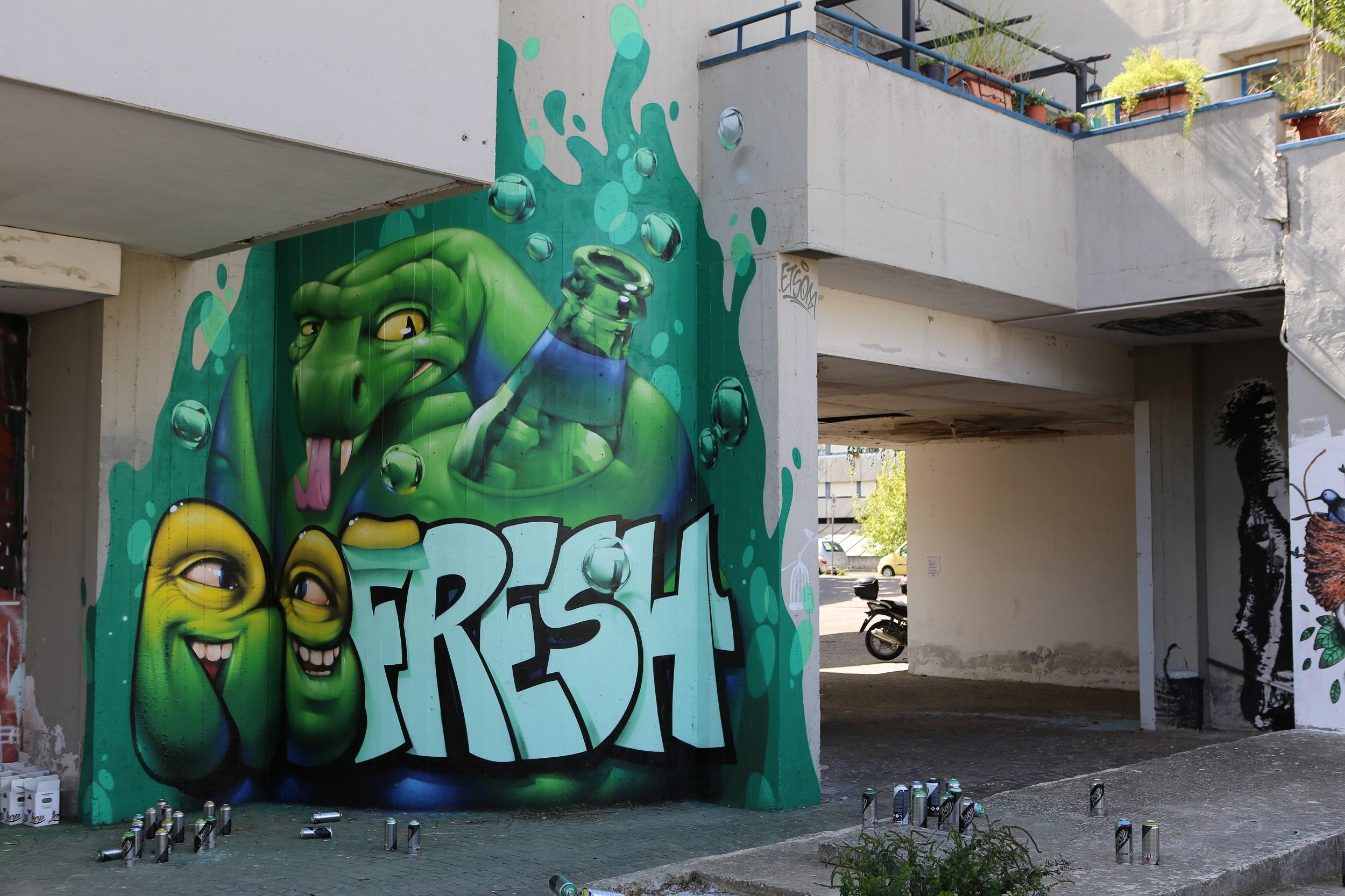 Refresh the City, il progetto di Sprite e Artkademy | Collater.al 4